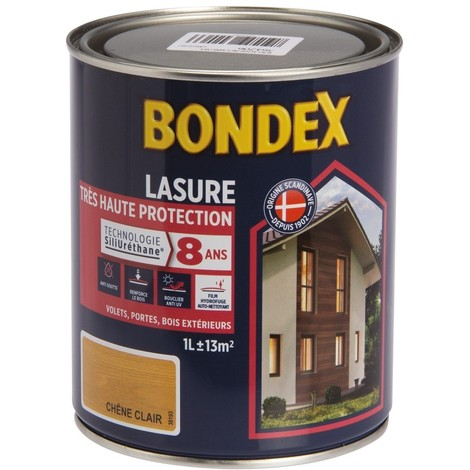 Lasure Haute Protection 8 Ans, Satin Bondex