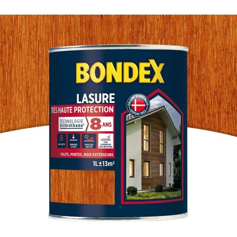Lasure Haute Protection 8 Ans, Satin Bondex