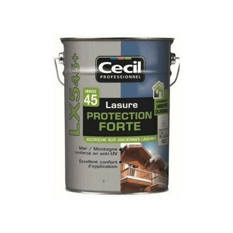 Lasure pro acrylique 5L LX545+ CECIL - plusieurs modèles disponibles