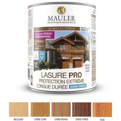 Lasure Pro sans odeur - Protection extrême longue durée - Mauler
