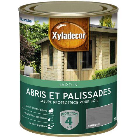 Lasure protectrice 1L Mat - Abris et Palissades - bois extérieur - Xyladecor