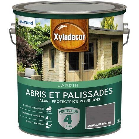 Lasure protectrice 5L Mat - Abris et Palissades - bois extérieur - Xyladecor