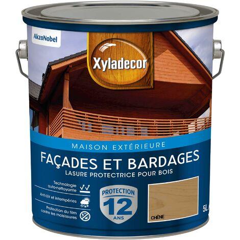 Lasure protectrice 5L Satin - Facades et Bardages - bois extérieur - Xyladecor