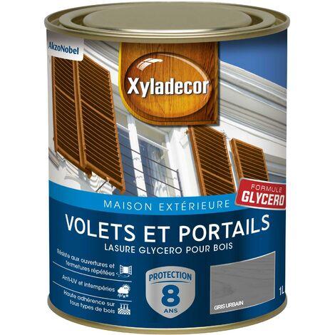 Lasure protectrice glycéro 1L Satin - Volets et Portails - bois extérieur - Xyladecor