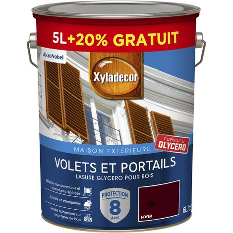 """main image of """"Lasure protectrice glycéro 5 & 6L Satin - Volets et Portails - bois extérieur - Xyladecor"""""""