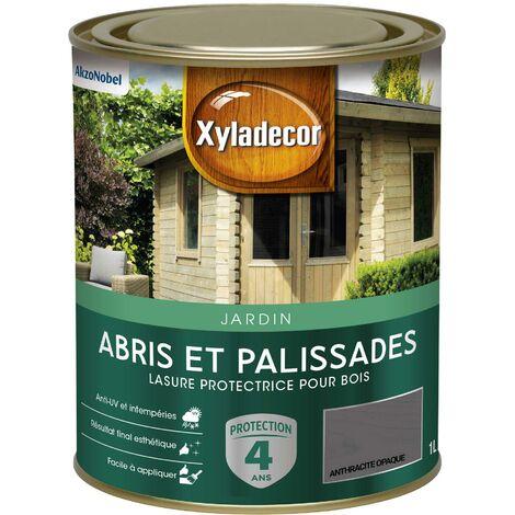 """main image of """"Lasure protectrice 1L Mat - Abris et Palissades - bois extérieur - Xyladecor"""""""