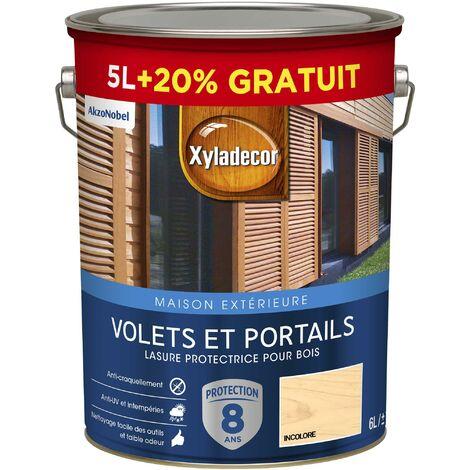 """main image of """"Lasure protectrice 5 & 6L Satin - Volets et Portails - bois extérieur - Xyladecor"""""""