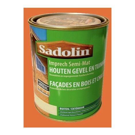 Lasure SADOLIN (Woodlover) Impregnant Semi-mat Teck naturel 2,5 L