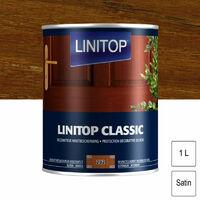 Lasure satinée 1L Linitop Classic- plusieurs modèles disponibles