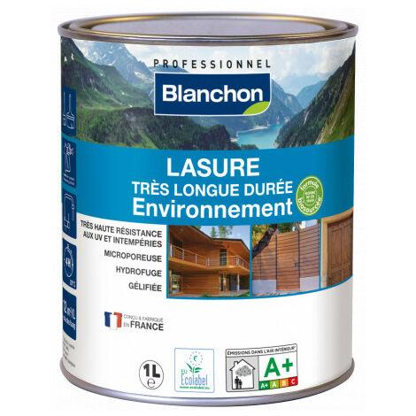 Lasure très longue durée Environnement Blanchon 10L - Plusieurs modèles disponibles