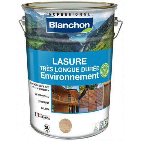 Lasure très longue durée Environnement Blanchon 5L - Plusieurs modèles disponibles