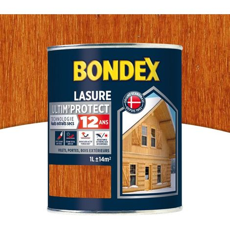 Lasure Ultim' Protect 12 Ans,Satin Bondex