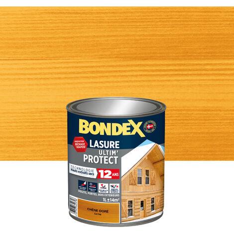 Lasure Ultim' Protect 12 Ans,Satin, Incolore 1L Bondex - Incolore