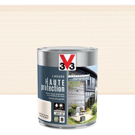 Lasure V33 Hp les contemporaines 8 ans cèdre blanc satiné 1 l