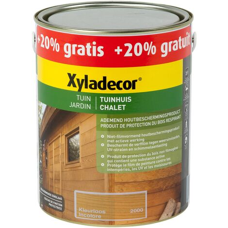 Lasure Xyladecor 'Chalet' incolore Mat - 3L