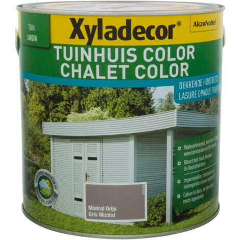 Lasure Xyladecor 'Color' Gris mistral - 2,5L