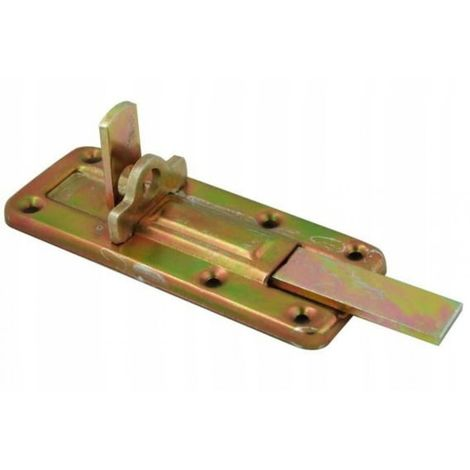 Latch latch, door lock 120 mm straight