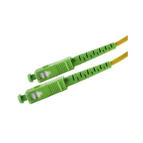 Latiguillo Fibra Optica Sc/apc A Sc/apc 9/125 15 Metros 39.077/fibra/15