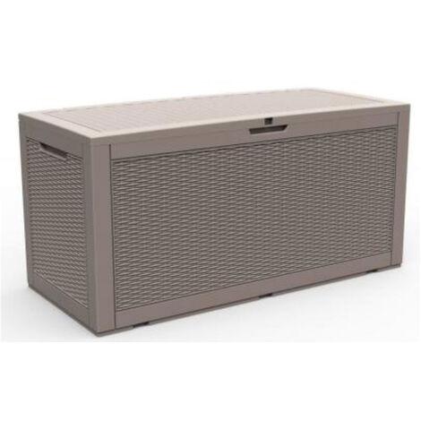 LATTE Rattan Cushion Storage Box