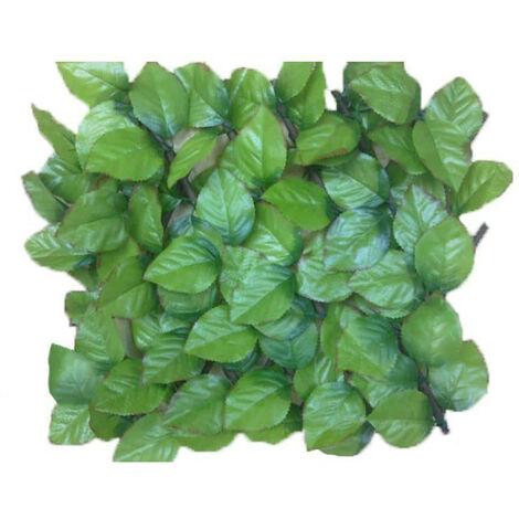 Lattice rose leaves JET7GARDEN 1,00x2,00m - soft green