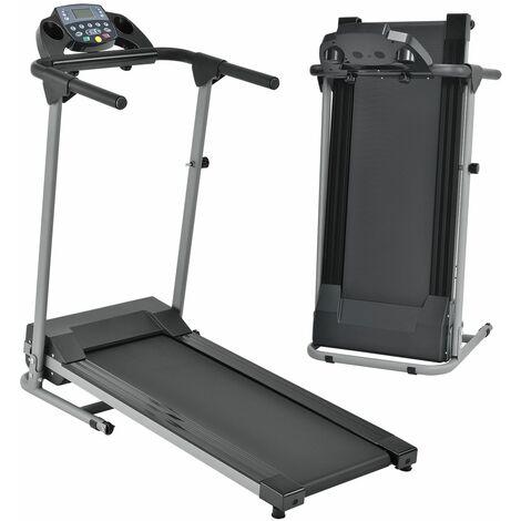 Laufband Speedrunner 2000 klappbar, 10 km/h, 12 Programme, LCD Display – Heimtrainer elektrisch 120 kg belastbar - Fitnessgerät 500 Watt | ArtSport