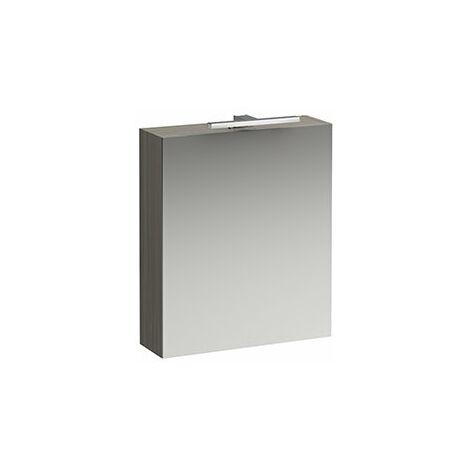 Laufen Armoire de toilette courante Base 600 mm, 1 porte, élément lumineux LED, charnière à droite, Coloris: multicolore - H4027521109991
