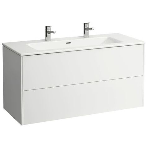 Laufen Meuble sous-lavabo Laufen, 2 tiroirs, pour lavabo 810963, Coloris: multicolore - H4022321109991