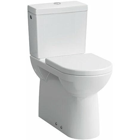 Laufen PRO Lavabo independiente para combinación, salida Vario, 360x700, color: Blanco con LCC - H8249554000001