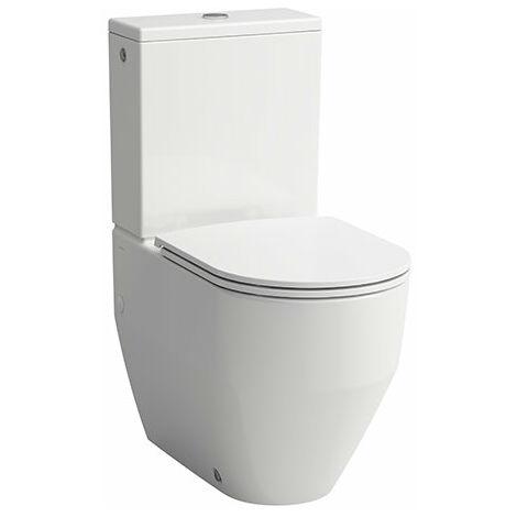 Laufen PRO Stand-Tiefspül-WC, Vario-Abgang waagr, 360x560, weiß, Farbe: Weiß - H8259520000001
