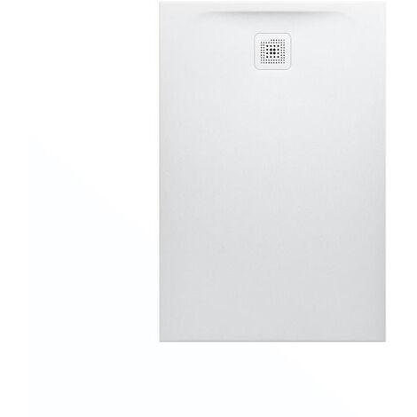 """main image of """"Laufen Receveur de douche en gel coat Marbond, extra-plat, évacuation sur le côté court 120x80, Blanc mat (H2109520000001)"""""""