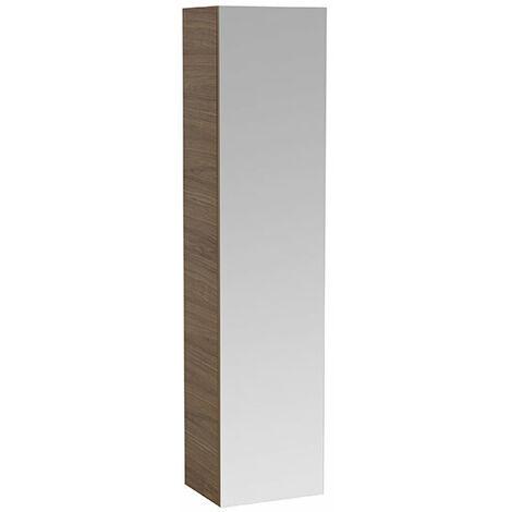 Laufen Running ILBAGNOALESSI Une armoire haute avec miroir, 2 panneaux intérieurs, charnière à gauche, 1 porte, 1700x400x300, Coloris: Laqué blanc - H4580120976311