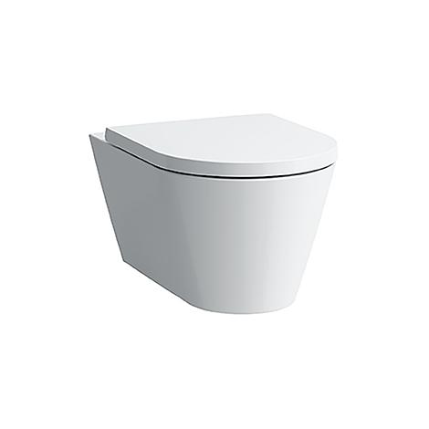 Laufen Tiefspül-WC wandhängend Kartell by Laufen 545x370x355 spülrandlos LCC weiß H8203374000001