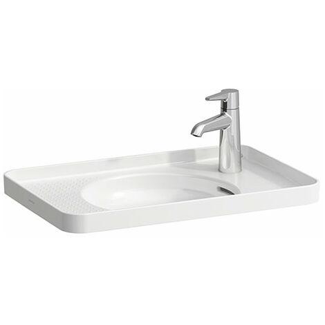 Laufen VAL Vasque à encastrer, sans trou de robinet, avec trop-plein, 550x360, intérieur 304, blanc, Coloris: Blanc avec LCC - H8172814001091