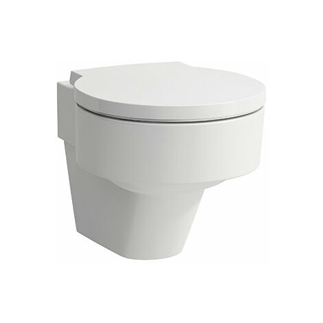 Laufen VAL WC mural, lavable, sans fleur, 390x530, blanc, Coloris: Blanc avec LCC - H8202814000001
