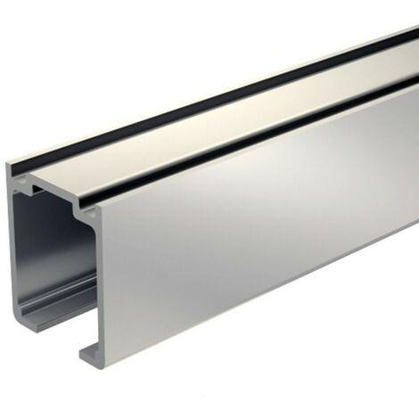 Laufschiene Aluminium 155 cm für Schiebetürbeschlag SLID'UP 1100 bis 80 kg, für Schiebetüren, Durchgangstüren,