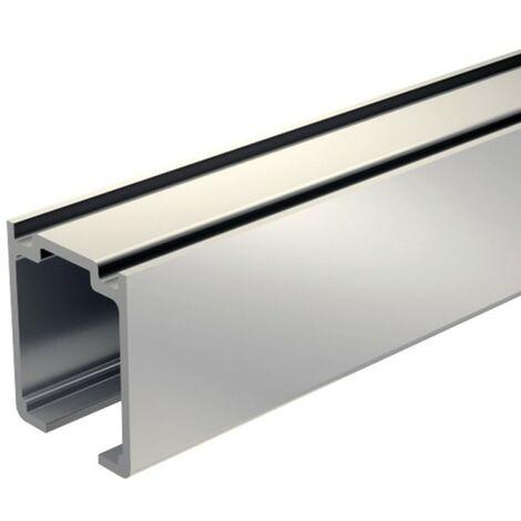 Laufschiene Aluminium 195 cm für Schiebetürbeschlag SLID'UP 1100 bis 80 kg, für Schiebetüren, Durchgangstüren,