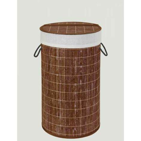 Laundry bin, Bamboo, natural WENKO