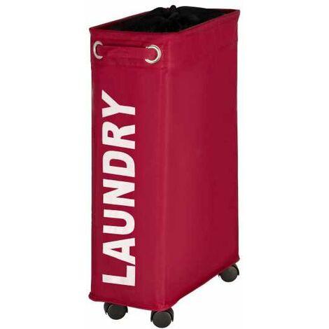 Laundry Bin Corno red WENKO