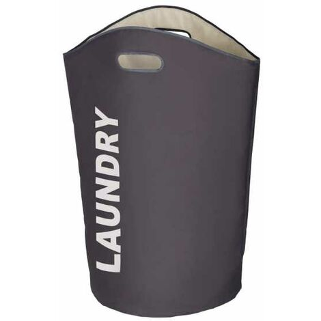 Laundry Bin Lumo grey WENKO