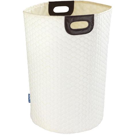 Laundry Bin Wabo beige WENKO