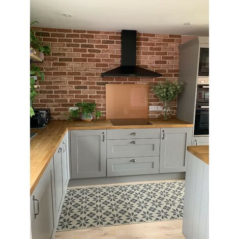 Laura Ashley Copper Glass Kitchen Upstands - different dimensions available d92f716d6