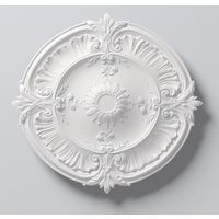 Laura Ceiling Rose Lightweight Resin 77cm Diameter Paintable Easy Fix