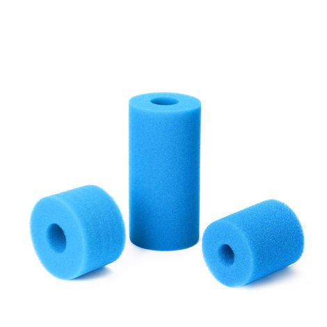 Lavable Reutilisable Piscine Filtre En Mousse Eponge Cartouche Pour Intex Type 3