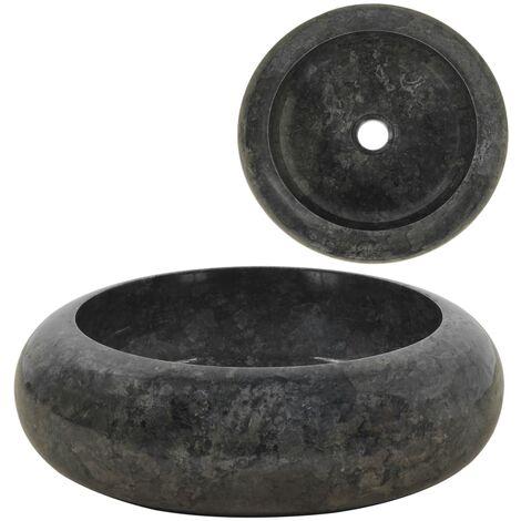 Lavabo 40x12 cm mármol negro