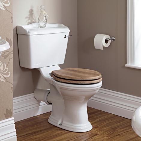 Lavabo 50cm & WC Rétro