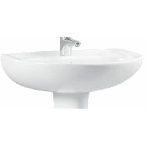 Lavabo 60cm Normus - 60cm - blanc