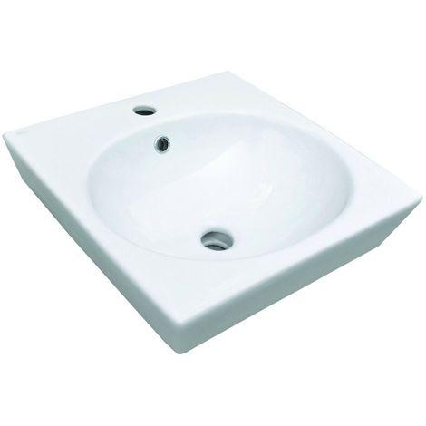 Lavabo Da Incasso Ceramica Althea.Lavabo D Appoggio Sally Cm 45 X 45 Althea