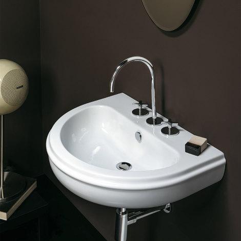 Lavabo da bagno sospeso cm 70 stile classico Ceramica Azzurra Charme ...