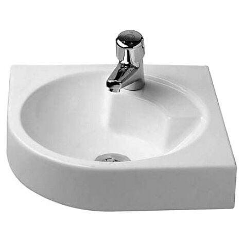 Lavabo d'angle Duravit Architec 500 mm - Blanc
