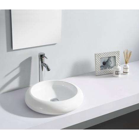 Lavabo de cerámica Ibiza Blanco
